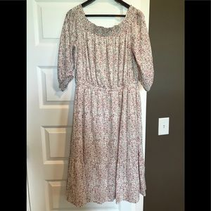 Old navy floral midi dress